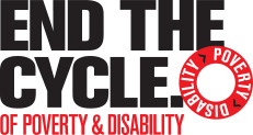 End The Cycle of Poverty & Disability logo – Homepage